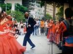 Gravação do DVD do Grupo Cultural Meninas de Sinhá. Participação especial do rapper Flávio Renegado.